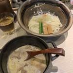 ほそ道 - もつつけ麺٩(ˊᗜ、ˋ*)/¥880円˚✧₊⁎⁺˳✧༚