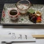 Kappouizakayashuenseigetsu - 前菜