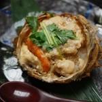 Kappouizakayashuenseigetsu - トゲクリガニの飯蒸し