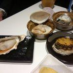 魚歌 - 海鮮浜焼き盛り合わせ ¥1500
