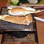 かごの屋 - 焼き蟹