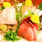 四季酒菜 かえん - お魚料理も気合十分お寿司屋さんのも負けませんよ!