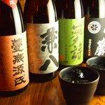 四季酒菜 かえん - 本格焼酎は450円より!日本酒・梅酒もいろいろありますよ。