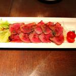 デザイナーズ個室 肉バル W - ローストビーフ