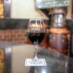 ピノッキオ - ☆ネグロアマーロ・デル・サレント グラスワイン(赤)850円