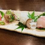 おじゃり - 鮮魚お造り盛り合わせ(2人前)