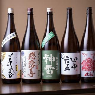 がつんと弾ける強炭酸ハイボール☆全国各地の日本酒もご用意!