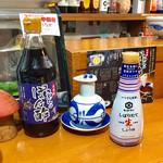 106312198 - 真ん中が九州の甘い醤油