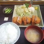 106313407 - ヒレカツ定食