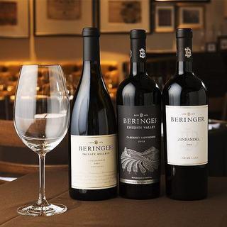 こだわりのワインは種類豊富にご用意