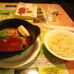 インドカレー天竺 札幌南麻生店 - チキンカレー