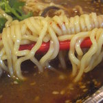 火鍋麺  - 羊火鍋麺 麺アップ(2011/12)