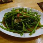 プアンタイ - 空芯菜の炒め