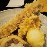 山斗 - 山斗スペシャルぶっかけ(天ぷらたち)