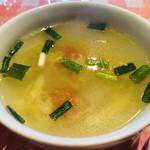 西新宿 タイ国屋台食堂 ソイナナ - スープ