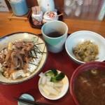 旬食健美  田しろ - 料理写真:いわし丼定食 771円(嬉しい税込)