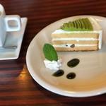 カフェ ド サンク - ランチデザート100円(๑⃙⃘•ㅅ•๑⃙⃘)♡