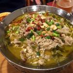 大衆酒場 北海 - 牛肉の漬け白菜の煮1,280円