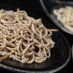 鴨蕎麦 尖 - 料理写真:蕎麦全体