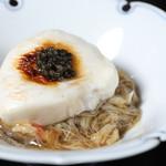 鴨蕎麦 尖 - 料理写真:虎河豚白子とキャビアの蕎麦