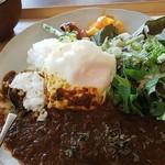 まちかど農園カフェ POSTo - 鹿肉のスパイスカレー
