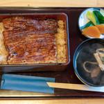 芳野屋 - 2019.4 生むし 鰻重 吸物・お新香付き(3,600円)ご飯少なめ