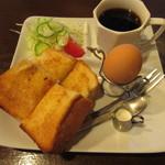 山の駅レストラン - 料理写真:モーニングセット 500円 (2019.4)