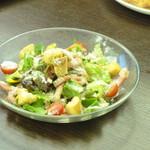 ドウジマカフェ - シーザーサラダ!