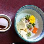 精進鉄鉢料理 泉仙 - ゆば懐石 2 さしみ