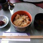 精進鉄鉢料理 泉仙 - ゆば懐石 4 ごはん