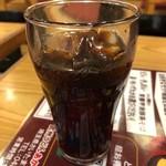 武州うどんあかねandみどりダイニング - アイスコーヒー