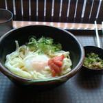 うどん研究所 麺喰道 - 『明太醤油うどん   400円なり』