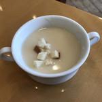 レストラン&me - サラダバーよりスープ
