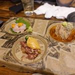 和食 縁 蕎麦切り - 3種盛り合わせ