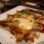 和食 縁 蕎麦切り - 大阪の味ねぎ焼きガレット