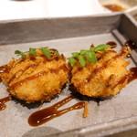 和食 縁 蕎麦切り - ポテサラコロッケ