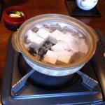 利久庵 - 湯豆腐