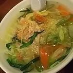 106352108 - ハーフ野菜温麺