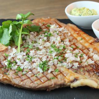 上質な古野牛・新鮮魚介など九州から取り寄せたこだわり食材使用