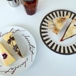 106356293 - パイ&チーズケーキ4種