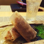 Chuugokusaishinka - 黒毛和牛の特性味噌炒め クレープ包み