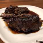 肉バルサンダー - 白金豚のバルサミコ酢煮込み