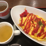 喫茶ロータス - ワンコインランチ(税込500円)(2019.04.現在)