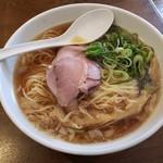 麺屋ダイニング ナナシ - 鯛煮干しらー麺清湯黒2019.04.22
