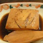 NIKUYAぶた娘 - 煮とうふ294円