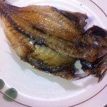 魚勝 - 料理写真:アジの干物