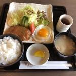 Kaferesutorankyunain - ハンバーグ定食