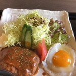 Kaferesutorankyunain - ハンバーグ
