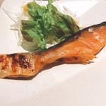 鮨・割烹 花絵巻 - シャケ味噌焼き!