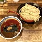 三田製麺所 - 辛つけ麺中盛